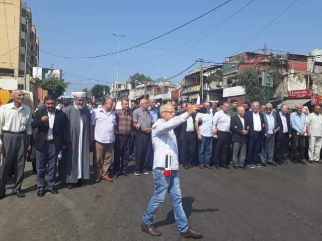 الشعبية تشارك في إحياء ذكرى مجزرة صبرا وشاتيلا  الـ 37  في بيروت