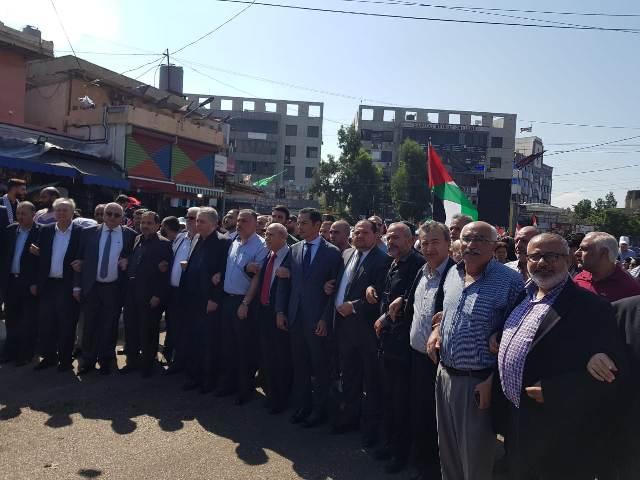 الشعبية في لبنان  تشارك بوفد قيادي في مسيرة ومهرجان ذكرى مجزرة صبرا وشاتيلا