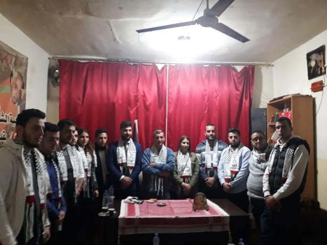 وفد شبابي لبناني يزور مخيم شاتيلا