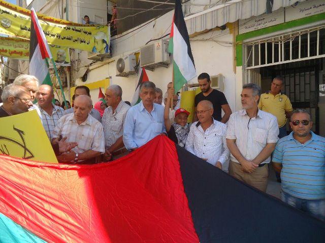 الجبهة الشعبية لتحرير فلسطين في بيروت تشارك في فاعليات(صرخة أنا فلسطين )