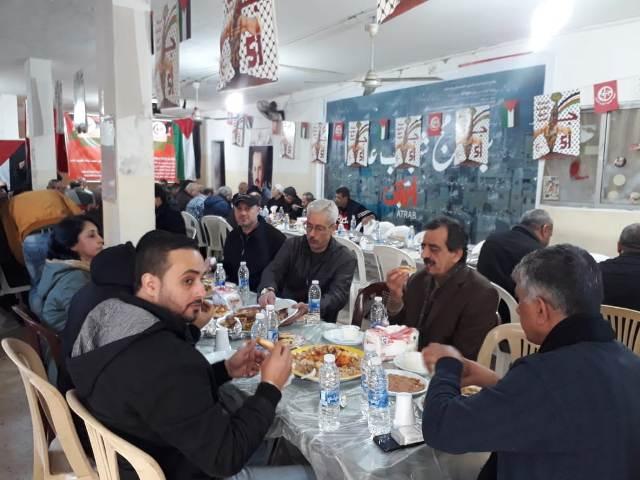 الشعبية تقيم مأدبة غداء وتأبين على روح الشهيد ماهر اليماني في مخيم شاتيلا
