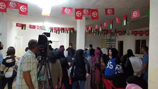 منظمة الشبيبة ولجان المرأة الشعبية الفلسطينية وزعت 125 وجبة إفطار رمضانية