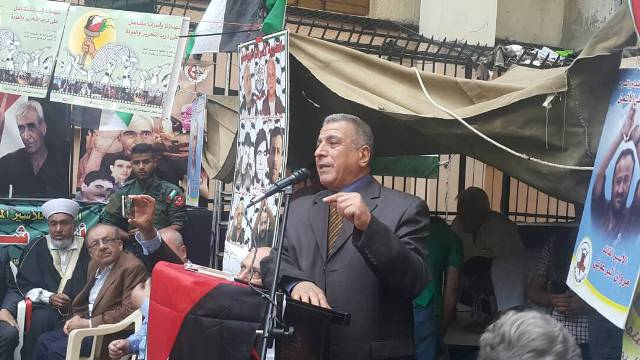 مهرجان تضامني مع الأسرى المضربين عن الطعام في سجون الاحتلال الصهيوني