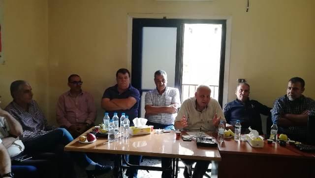 أمين سر اللجان الشعبية في لبنان منعم عوض زار منطقة الشمال