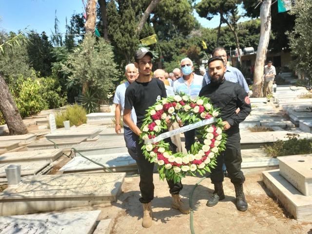 الشعبية في لبنان تحيي ذكرى استشهاد فارس الشهداء أبو علي مصطفى