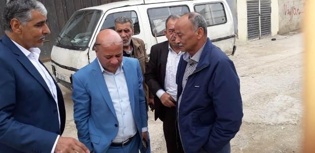 رئيس دائرة شؤون اللاجئين يزور مخيم نهرالبارد
