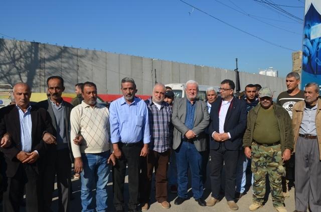 الشعبية في صيدا تحتفي بيوبيلها الذهبي بافتتاح مقبرة الشهداء في مخيم عين الحلوة