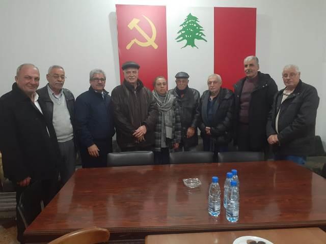 الشعبية تزور قيادة الحزب الشيوعي في الشمال
