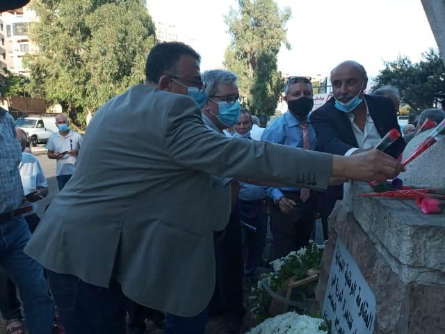 الشعبية  في لبنان  تشارك بيوم الشهيد الشيوعي وذكرى استشهاد جورج حاوي