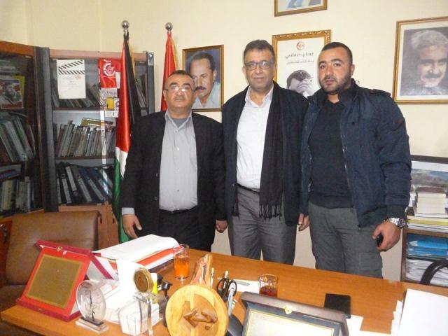 عبد العال يستقبل لجنة الأسير سكاف