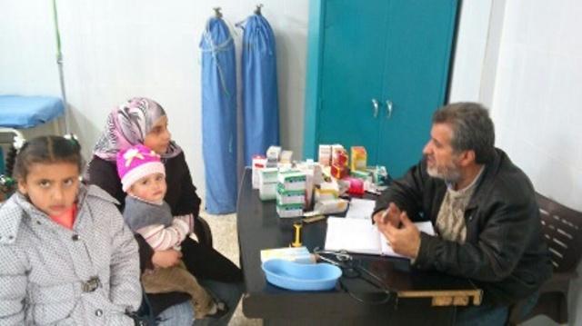 يوم صحّيّ مجاني للمرضى في مخيمات الشمال