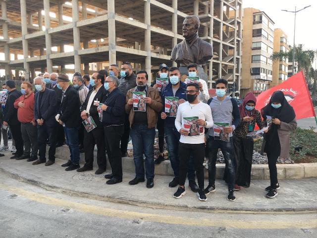 الجبهة الشعبية لتحرير فلسطين  تشارك بإحياء الذكرى السنوية لاستشهاد القائد قاسم سليماني