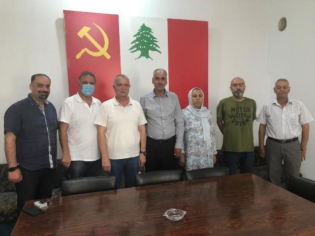 الجبهة الشعبية لتحرير فلسطين تلتقي الحزب الشيوعي اللبناني
