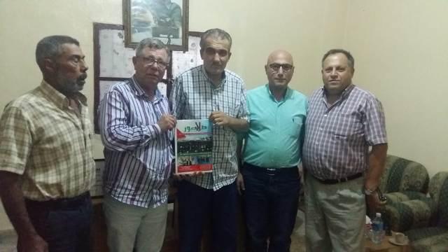 الجبهة الشعبية تستقبل وفداً من ملتقى الجمعيات الأهلية في مدينة صور