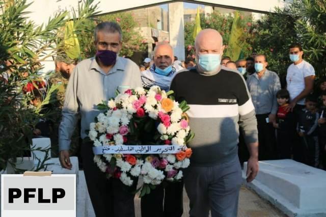 الشعبية في صور تشارك في الذكرى السنوية الــ 16 لاستشهاد الرئيس ياسر عرفات
