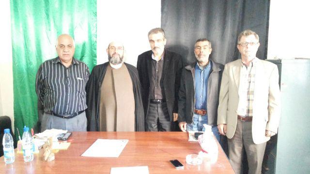الجبهة الشعبية تستقبل رئيس جمعية الوسط الاسلامي  في صور