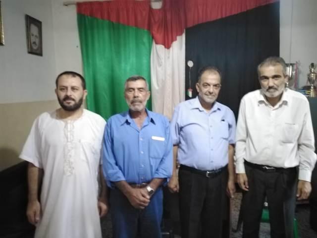 الشعبية في الرشيدية تستقبل وفدًا من حركة حماس