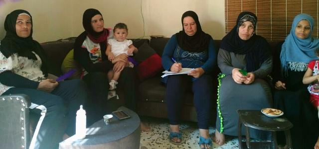 لجان المرأة الشعبية الفلسطينية تقيم ندوتين في تجمع كفر بدا