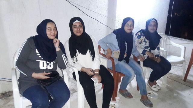 سهرة رمضانية للشبيبة الفلسطينية في برج الشمالي