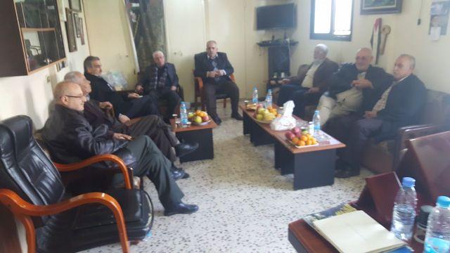 فصائل منظمة التحرير الفلسطينية في صور تعقد اجتماعها الدوري