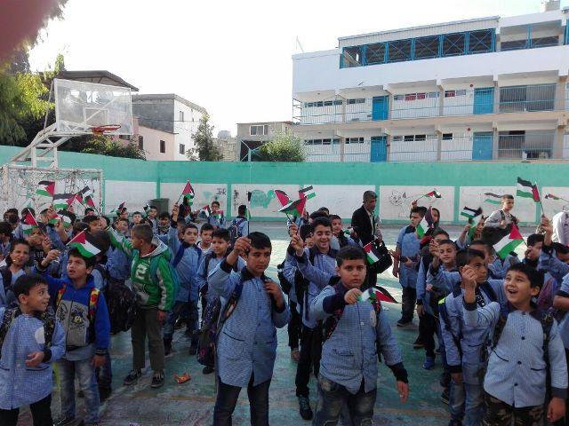 وقفات احتجاجية في مخيم البص لمناسبة الذكرى المئوية لوعد بلفور