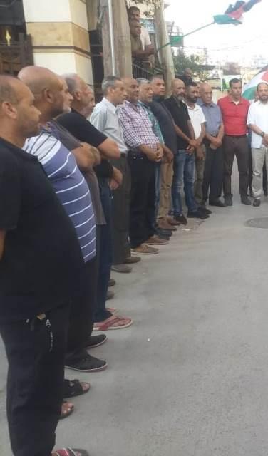 الشعبية في صور تشارك في وقفات تضامنية دعمًاً لصمود أهلنا في القدس