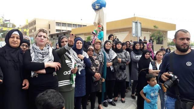 جمعة  الوفاء للشهداء والأسرى في مخيمات صور