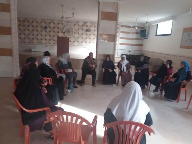 منظمة الشبيبة الفلسطينية ولجان المرأة تنظمان سلسلة ندوات في مخيمات صور