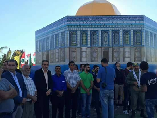 الشعبية في صور تشارك في فاعليات يوم القدس العالمي