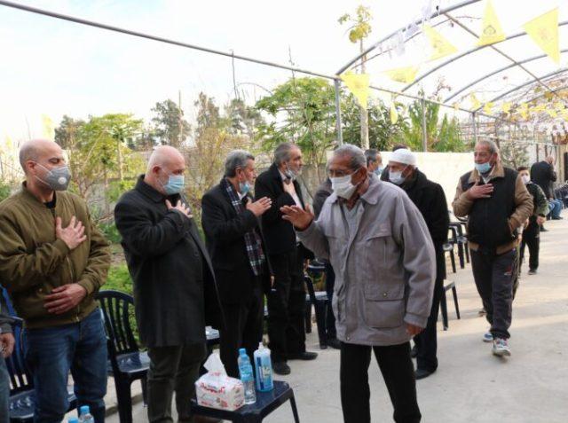 الجبهة الشعبية وعائلة الشهيد القائد الوطني فؤاد عبد الله (ابو نضال) تتقبلان التعازي بالراحل الكبير