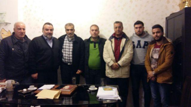 وفد من الجبهة الشعبية لتحرير فلسطين زار مجموعة الوادي الإعلامية