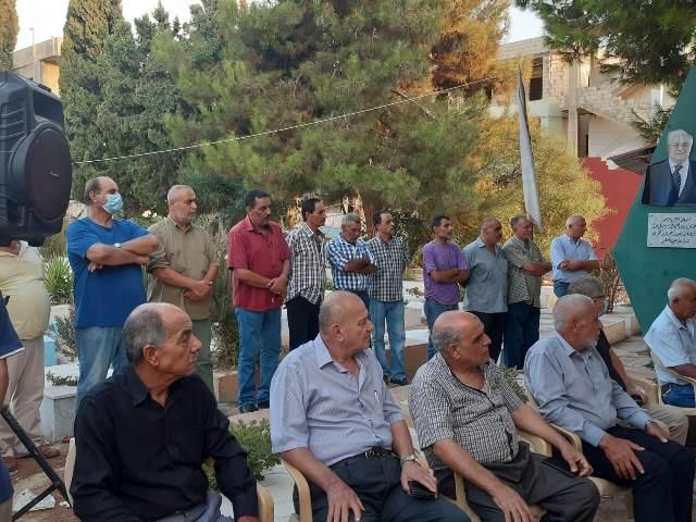 الجبهة الشعبية في صور تحيي الذكرى السنوية الـ 20 لاستشهاد أمينها العام (ابو علي مصطفى)