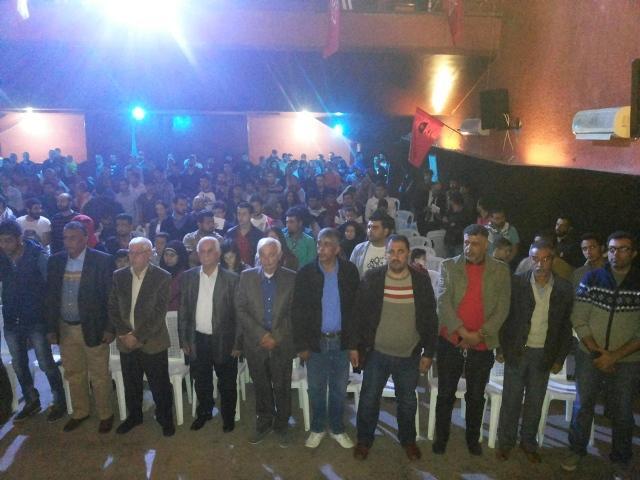 منظمة الشبيبة الفلسطينية تحيي ذكرى يوم الأرض في صور