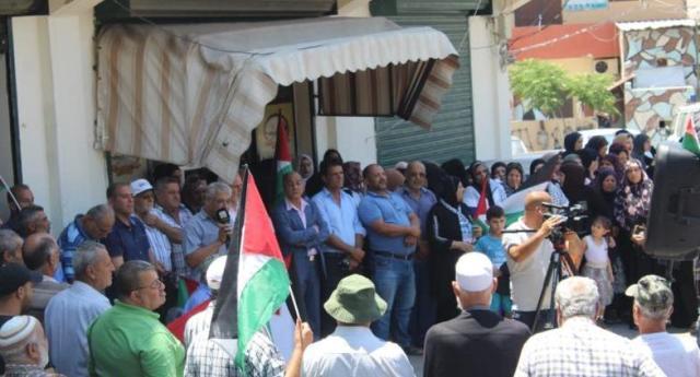 وقفات احتجاجية في مخيمات صور رفضًا واستنكارًا لمشروع الضم الصهيوني