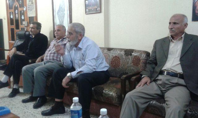 فصائل منظمة التحرير في صورتحيي نتفاضة الشعب الفلسطيني، وتحذر من مخاطر سياسة تقليص خدمات الانروا