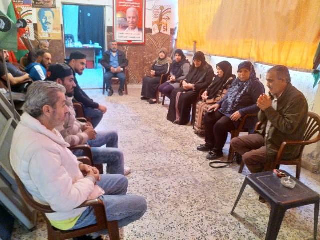 لقاءان رفاقيان في مخيمي البص والرشيدية في الذكرى الــ 52 لانطلاقة الجبهة الشعبية