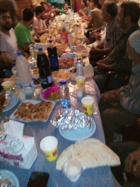 إفطار جبهاوي في مخيم الرشيدية