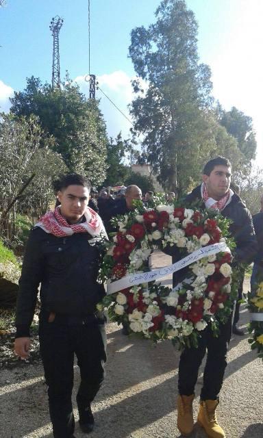 بمشاركة الشعبية بلدات وقرى الجنوب اللبناني تودع الشهيدالمناضل اسماعيل حجازي .