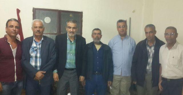 لقاء بين قيادتي الجبهة الشعبية وحزب الشعب الفلسطيني في صور