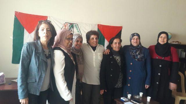 الاتحاد العام للمرأة الفلسطينية في الشمال يحيي الثامن من آذار