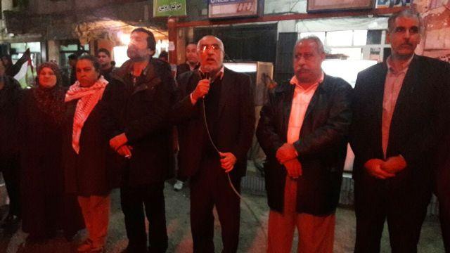 الجبهة الشعبية لتحرير فلسطين في تحتفي بإطلاق سراح القائد بلال كايد