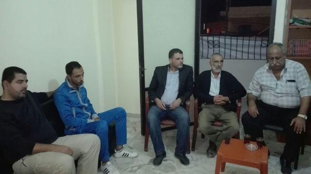 الجبهة الشعبية لتحرير فلسطين تلتقي حركة الجهاد الإسلامي في الشمال.