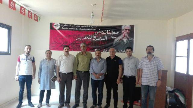 لقاء في البداوي بين المؤتمر الشعبي اللبناني والجبهة الشعبية لتحرير فلسطين