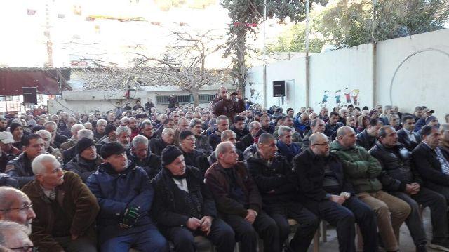 الجبهة الشعبية لتحرير فلسطين تؤبن فقيدها الراحل الأستاذ أبوأ سامة علوش