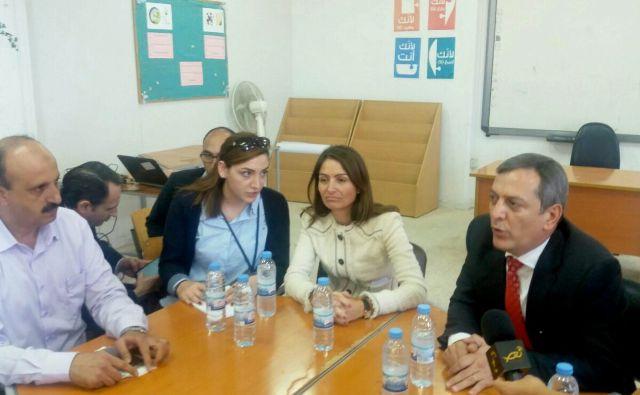 الاتحاد الأوروبي ومدير الأنروا في لبنان يزوران مخيم نهر البارد