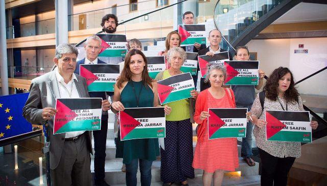 نواب إسبان أمام البرلمان الأوروبي: الحرية للمعتقلين خالدة وختام ورفاقهم ورسالة إلى البرلمان الإسباني