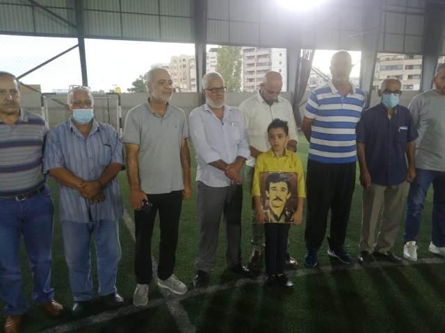 المكتب الحركي للشباب والرياضة في منطقة صيدا أقام مباراة في كرة القدم