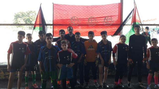 دورة كرة قدم بين فريقي الشباب ونادي النهضة الرياضة بذكرى انطلاقة الشعبية الـ53