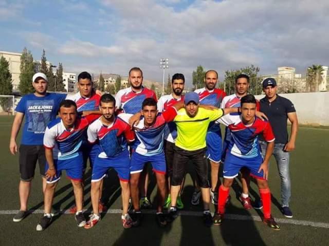 دوري رياضي لمناسبة الذكرى الخامسة عشرة لاستشهاد الرفيق
