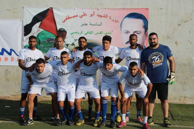 افتتاح دورة الشهيد القائد أبي علي مصطفى لكرة القدم في الشمال